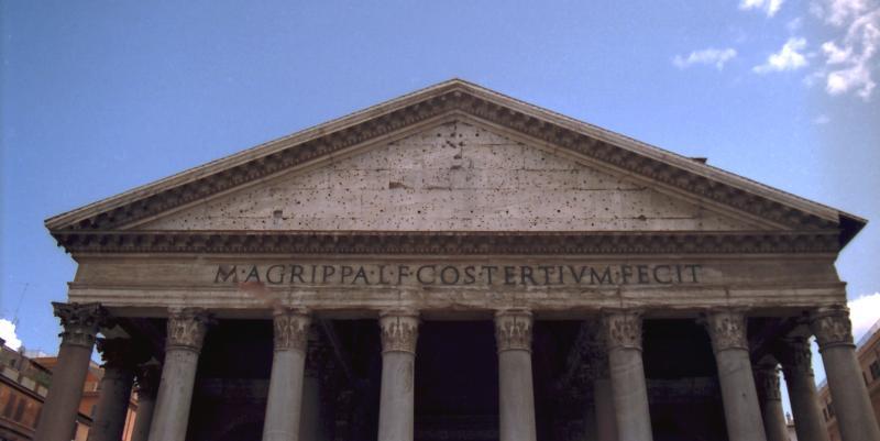 05 >> Antikefan --> Pantheon in Rom